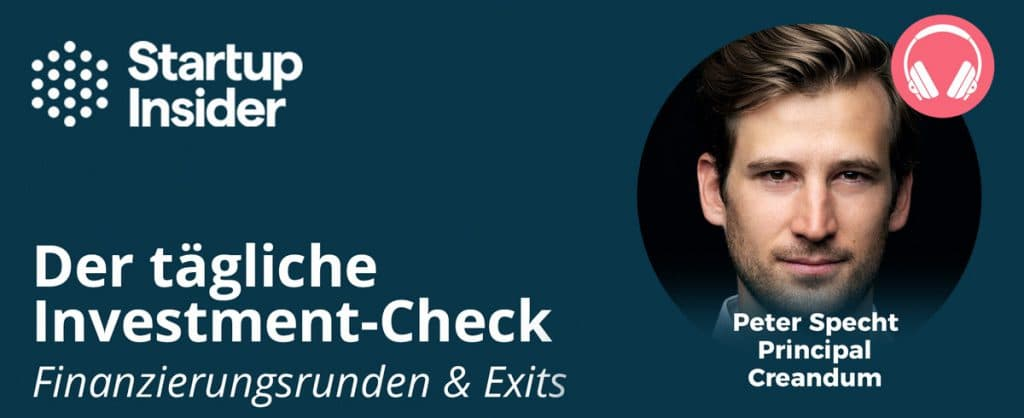 Daily - Peter Specht - Creandum - Investments & Exits